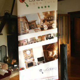 Roll-Up Casa Rural La Galana