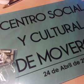 Placa Centro Cultural de Moveros