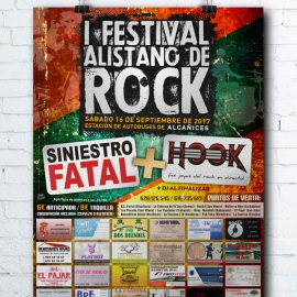 Cartel I Festival de Rock Alistano