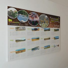 Calendarios Poster Naturaliste