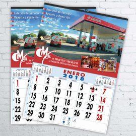 Calendarios Crismaoil