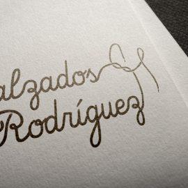 Logotipo Calzados Rodríguez