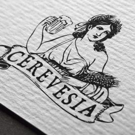 Logotipo Cerevesia Beer Shop