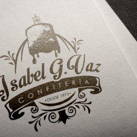 Logotipo Confitería Isabel G.Vaz