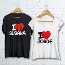 Camisetas boda Susana & Jorge
