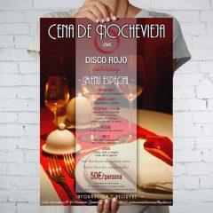 Cena Nochevieja Disco Rojo Catering