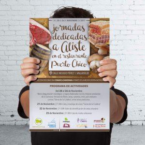 Jornadas dedicadas a Aliste en el Restaurante Puerto Chico