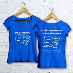 Camisetas XXVII Fiesta de la Comarca