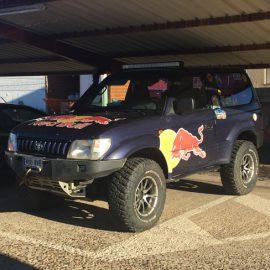 Vinilos Red Bull Toyota
