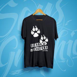 Camiseta Huellas Sierra de la Culebra